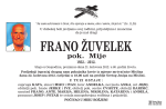 FRANO ŽUVELEK