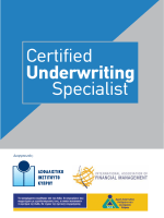 Certified Underwriting Specialist