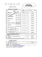 Cjenik Klukas od 1.4.2014