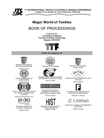 book of proceedings - itc&dc - international textile, clothing & design