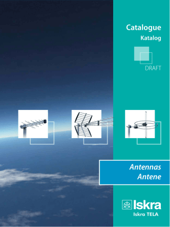 Catalogue Antennas Antene