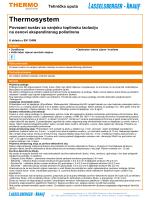 ETICS sustav na osnovi ekspandiranog polistirena