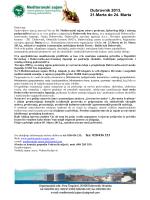 Dubrovnik 2013. 21.Marta do 24. Marta