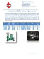 PELETIRKE serije ZLSP za biomasu i ugljenu prasinu