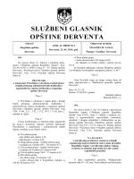 """""""Službeni glasnik opštine Derventa"""", broj: 5/14"""