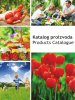 Katalog proizvoda Products Catalogue