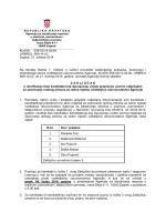 KLASA: 008-02/14-02/04 URBROJ - Agencija za istraživanje