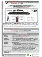 """""""Προστατευτικού"""" Πολύπριζου Ασφαλείας 230V/(16A)"""