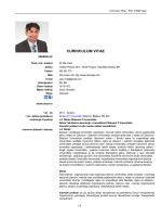 curriculum vitae - Fakultet za ekonomiju i menadžment