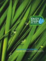 UNIMAC Εργαλεία Ποτίσματος Easydrip 2014