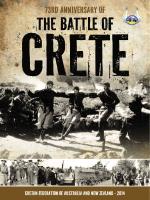 73rd anniversary of - Cretan Federation of Australia & New Zealand