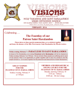 February 2014 - Holy Taxiarhai and Saint Haralambos Greek