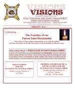 February 2014 - Holy Taxiarhai and Saint Haralambos Greek