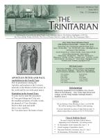 TRINITARIAN - Seek And Find