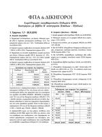 Συμπλήρωση εκκαθαριστικής δήλωσης ΦΠΑ δικηγόρου με βιβλία Β