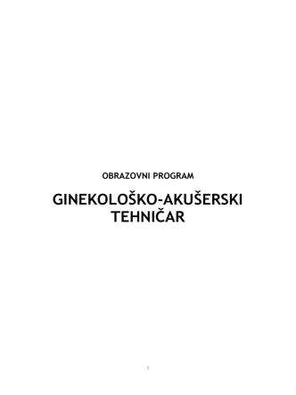 4-14 Ginekolosko-akuserski tehnicar