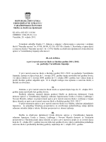 Plan upisa - Ured Državne uprave u Varaždinskoj županiji