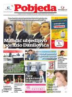 Pobjeda Ponedjeljak, 30. mart 2015. Intervju