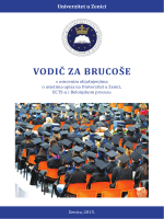 VODIČ ZA BRUCOŠE - Univerzitet u Zenici