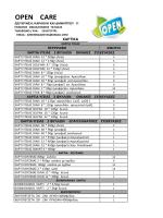 καταλογος χαρτικων opencare 2014