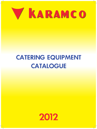 CATERING EQUIPMENT CATALOGUE