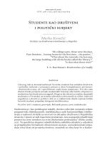 05_Marko Kovacic_Studenti kao drustveni i politicki subjekt