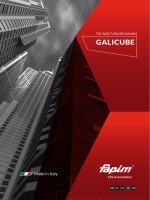GALICUBE - Fapim SpA