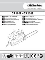 GS 180E - GS 200E - Oleo-Mac