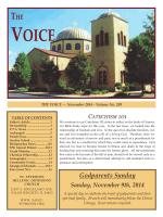 THE Godparents Sunday - Saint Spyridon Hellenic Orthodox Church