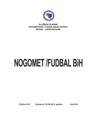 broj 568.cdr - Nogometni/fudbalski savez Bosne i Hercegovine