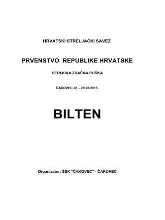 BILTEN