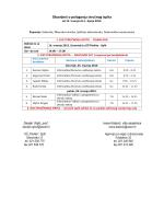 Popis pristupnika i raspored polaganja stručnih ispita