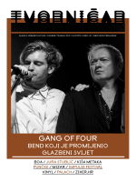 GANG OF FOUR - Tvornica kulture