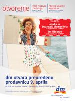 otvorenje otvorenje - dm drogerie markt Bosna i Hercegovina