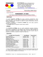 Το φύλλο προδιαγραφών σε μορφή pdf