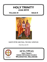 June 2010 - Holy Trinity