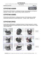 CITYSTAR A5009 CITYSTAR A5005 CITYSTAR OPO2