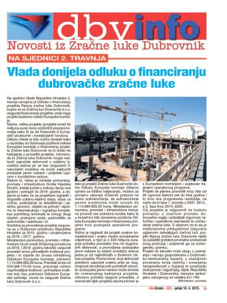 10.04.2015 - Dubrovnik Airport