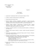 Plan rada za 2015. godinu - Udruga vinogradara Čazma