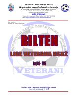 Bilten broj 5 - 2015 NSKŽ - Hrvatski nogometni savez