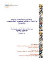 Predstavljanje stipendija DAAD-a i studija u Njemačkoj