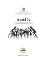 Izvještaj MUP Hrvatska za 2014. godinu