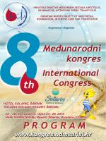 Program HDMSARIST2015 - 8. Međunarodni kongres HDMSARIST