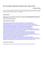 Hrvatske planine: Planinarsko-turisticki vodic s atlasom od 40 s pdf