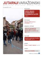 Preuzmite PDF datoteku - Jutarnji varaždinski