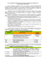 Το νέο νοµοθετικό πλαίσιο για την λειτουργία, συντήρηση και ασφάλεια