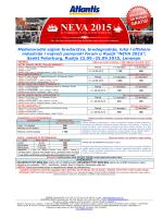 NEVA 2015 - Atlantis Travel