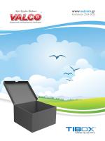 Valco/Tibox Catalogue