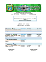 omladinska liga unsko-sanskog kantona 18-19.04.2015