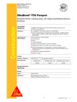SikaBond®-T50 Parquet